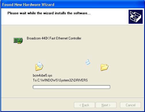 Драйвер для Ethernet Контроллера Windows XP